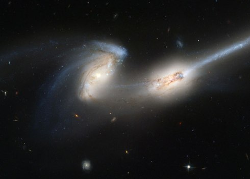 Galaxy Collision (Getty Images)